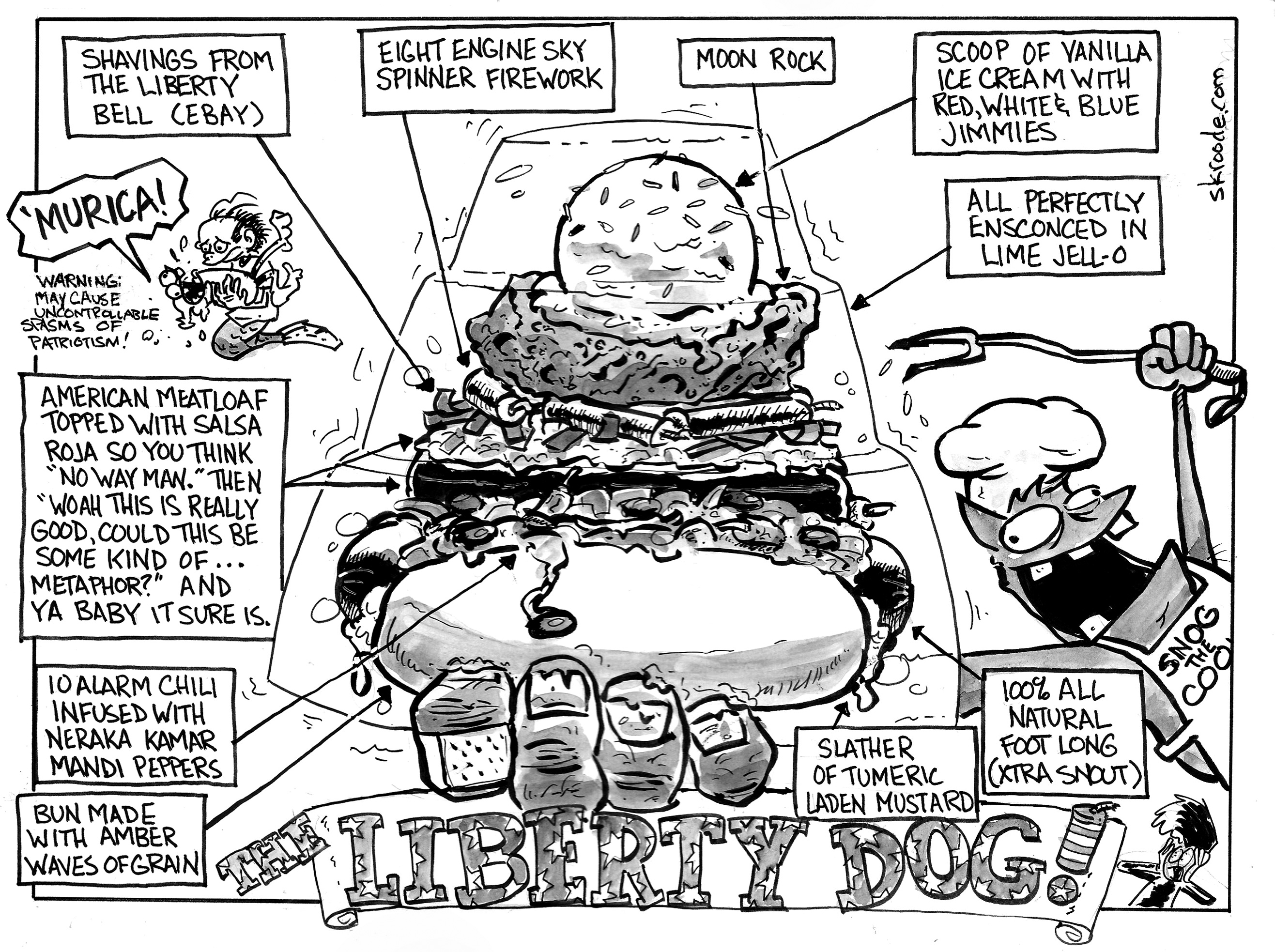The LIBERTY DOG